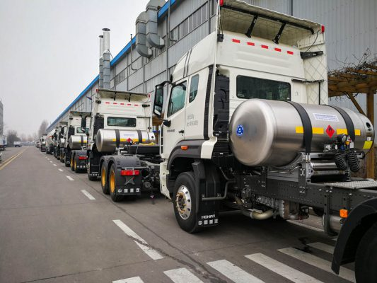 LNG Cylinder Application