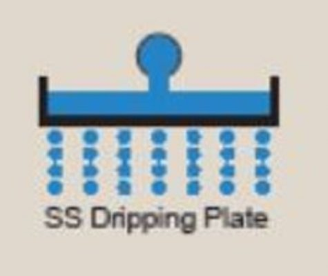Dripping plate
