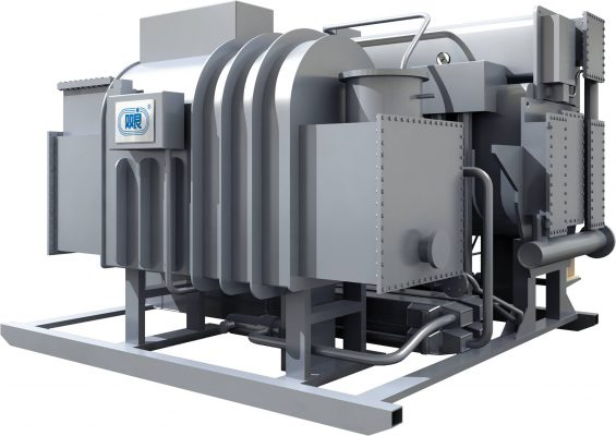 Flue Gas Operated Absorption Chiller