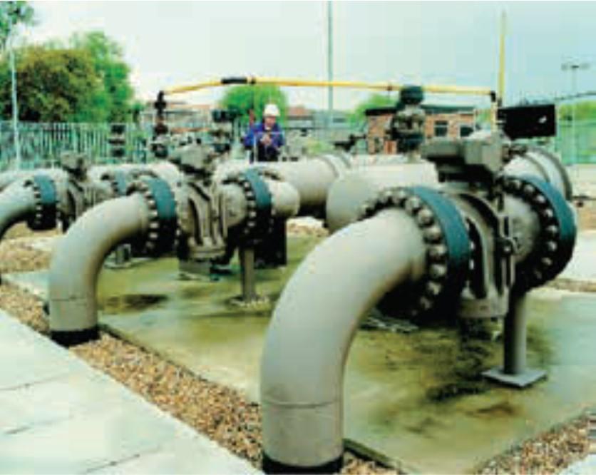 High Pressure Gas Isolation