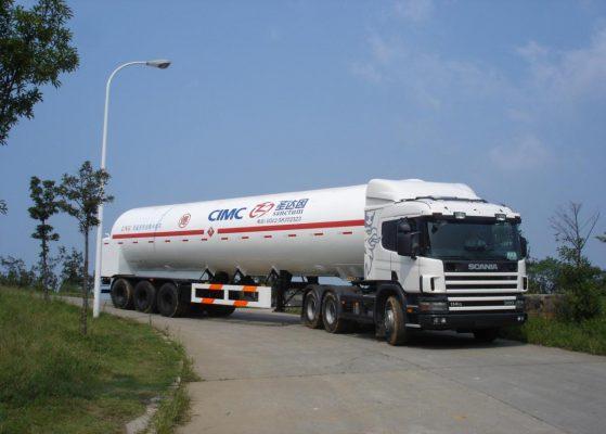 LNG Cryogenic Liquid Lorry Tanker