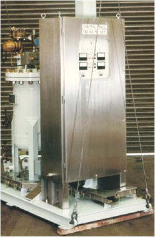 The compact-footprint BFCC copper chlorine system