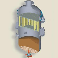 Settled solids removal system 1