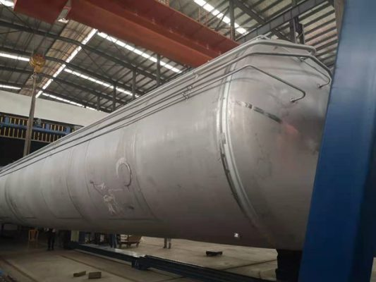 inner tank with piping