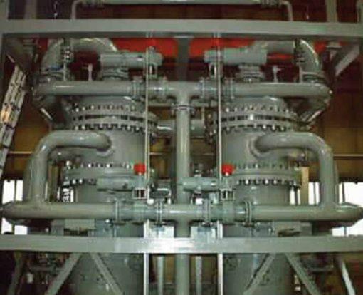 mozley desanding hydrocyclone separator combo